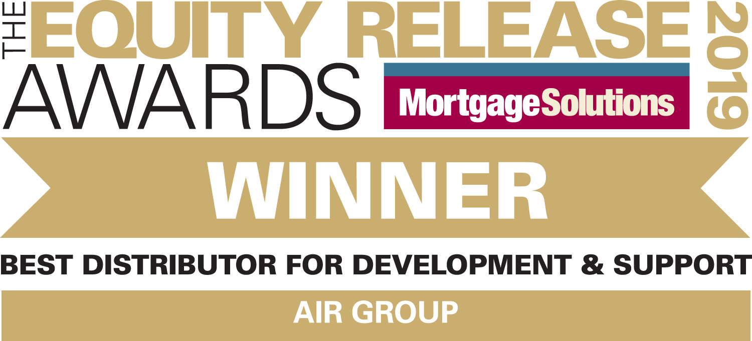Equity Release Awards 2018 Winner - Best Distributor for Development and Support