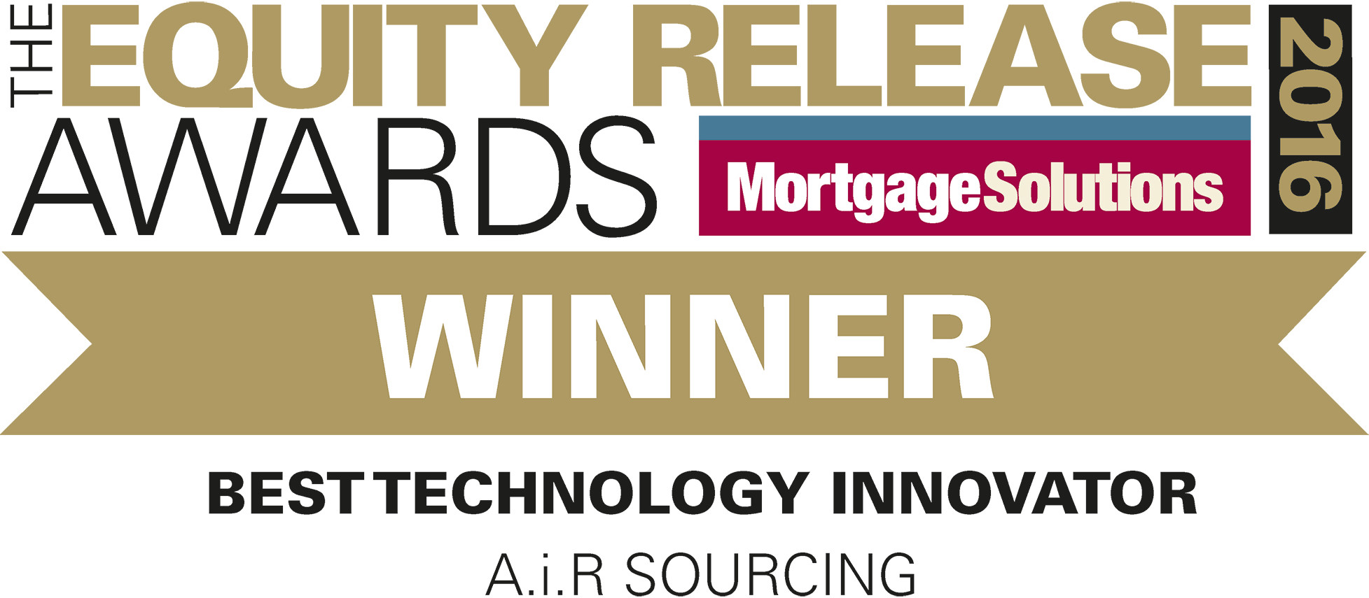 Equity Release Awards 2016 Winner - Best Technology Innovator